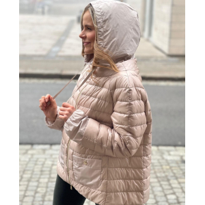 Herno Pink hooded jacket PI1237D12017