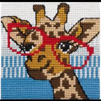 Barnebroderi - Giraff