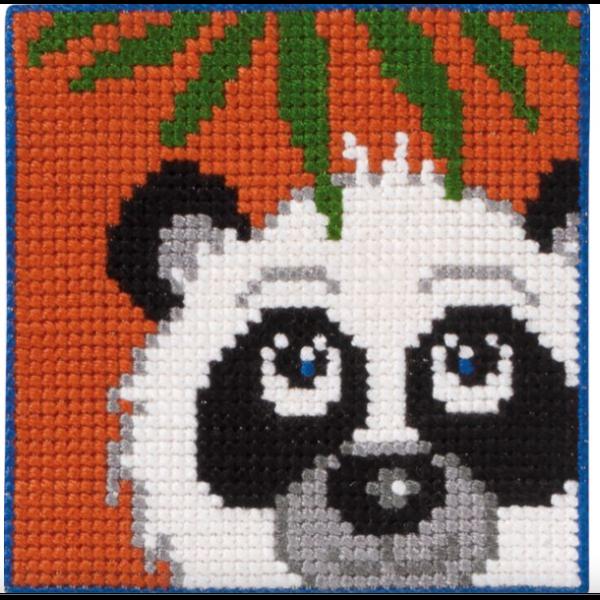 Barnebroderi - Panda