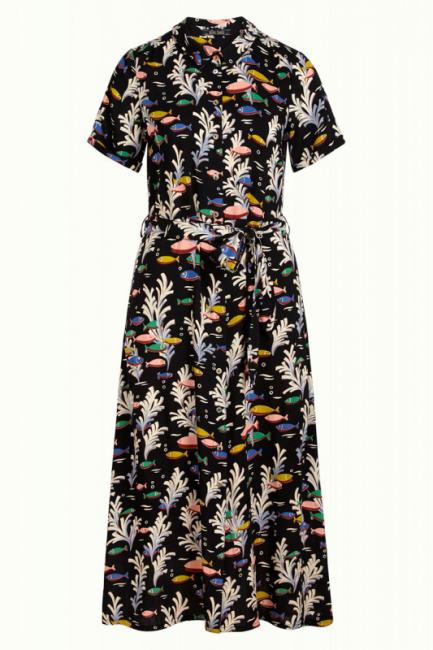 King Louie Kjole -  Olive Dress Big Sur