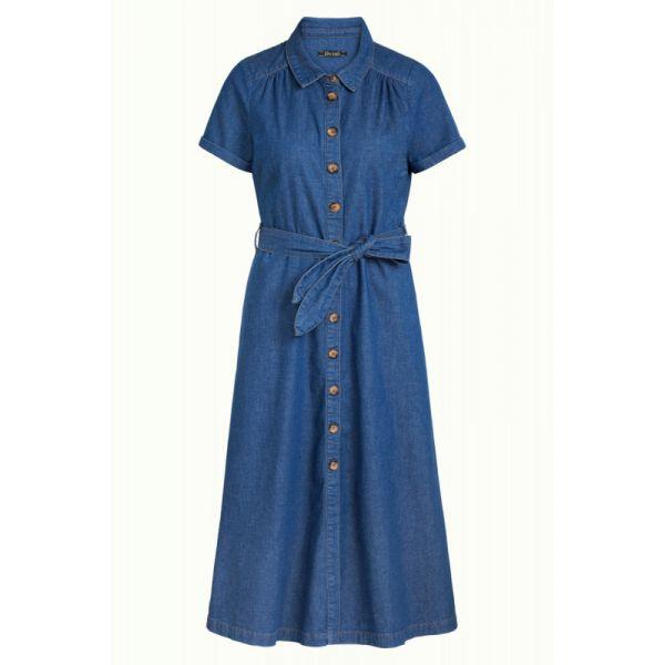 King Louie Kjole -  Olive Dress Chambray