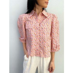 Ricca 3/4 Shirt - Roseate Spoonbill