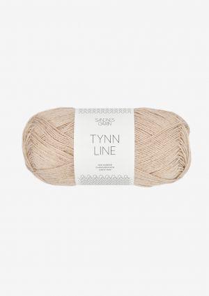 Tynn Line 3021 Lys Beige - Sandnes Garn