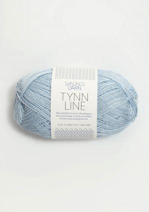 Tynn Line 6531 Isblå - Sandnes Garn