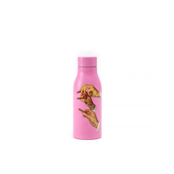 Seletti Termoflaske - Lipstick Pink