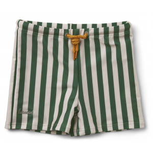 LIEWOOD - OTTO SWIM PANTS STRIPE GARDEN GREEN/SANDY