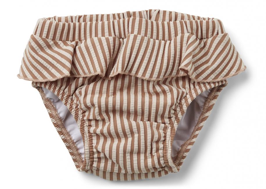 LIEWOOD - ELISE BABY SWIM PANTS SEERSUCKER STRIPE TUSCANY ROSE/SANDY