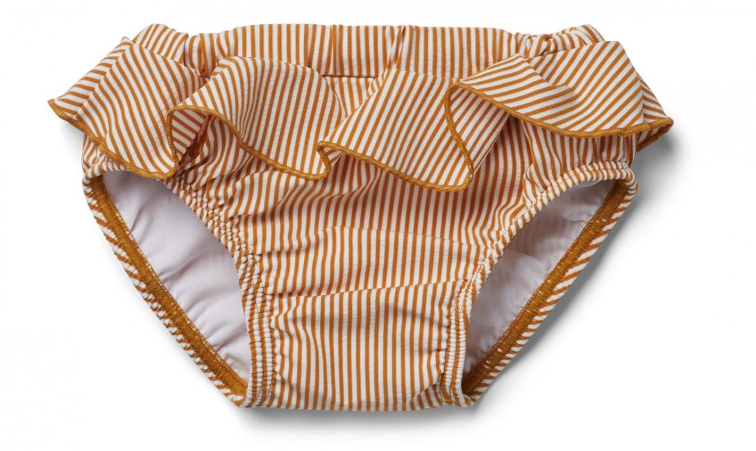LIEWOOD - ELISE BABY SWIM PANTS SEERSUCKER STRIPE MUSTARD/WHITE