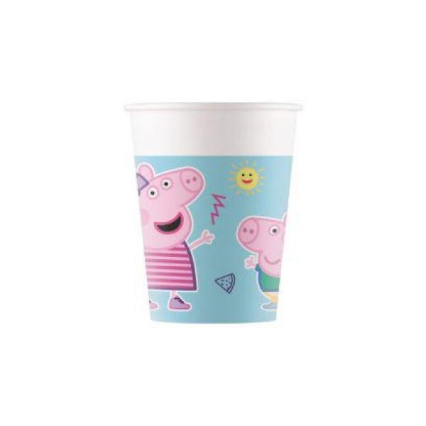 Drikkekrus i Papp, Peppa Pig Compostable 8 stk