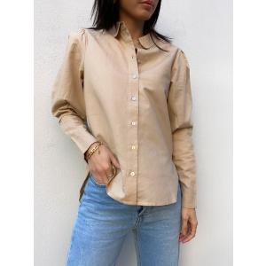 Sybilla Linen Shirt - Nomad