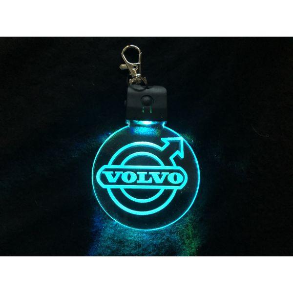 Nøkkelring med ledlys - Volvo