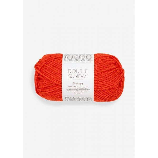 Doubel Sunday 3819 That orange feeling - Sandnes Garn