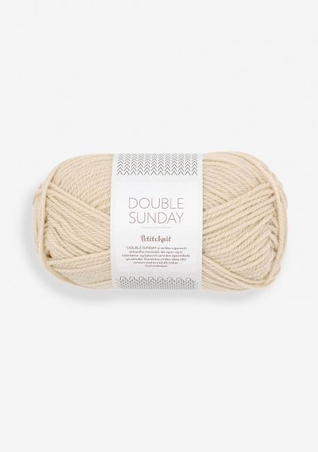 Doubel Sunday 2511 Almond - Sandnes Garn