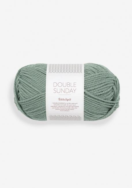Doubel Sunday 8051 Eucalyptus - Sandnes Garn