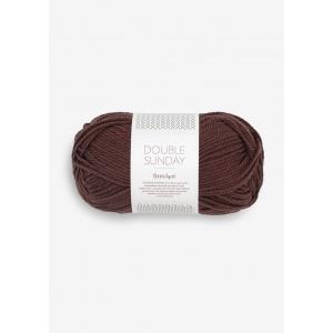 Doubel Sunday 4081 Coffee Bean - Sandnes Garn