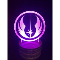 3d Ledlampe - Jedi symbol
