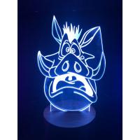 3d Ledlampe - Pumba 2