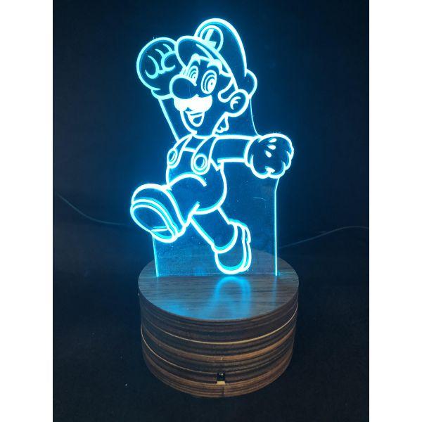 3d Ledlampe - Luigi