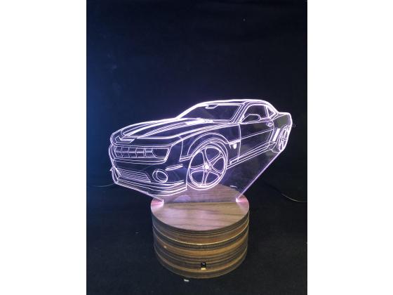 3d Ledlampe - Camaro
