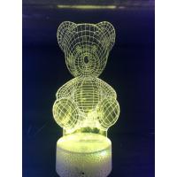 3d Ledlampe - Bamse