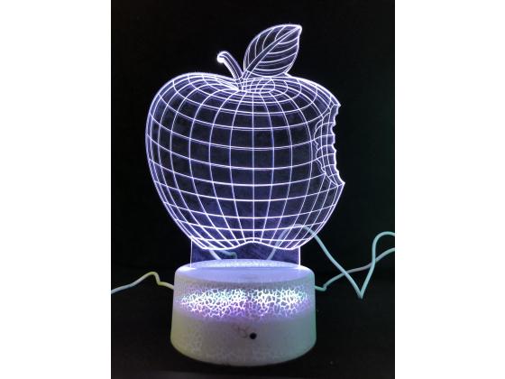 3d Ledlampe - Eple