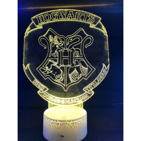 3d Ledlampe - Harry potter