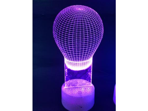 3d Ledlampe - Balong