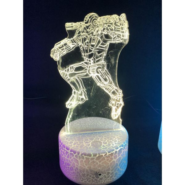 3d Ledlampe - Avengers