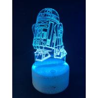 3d Ledlampe - R2D2