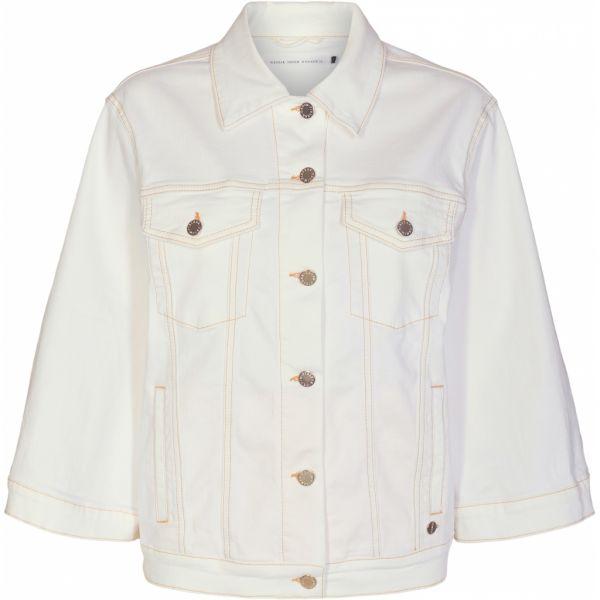 Rebecca 3/4 SWAN jacket Ecru