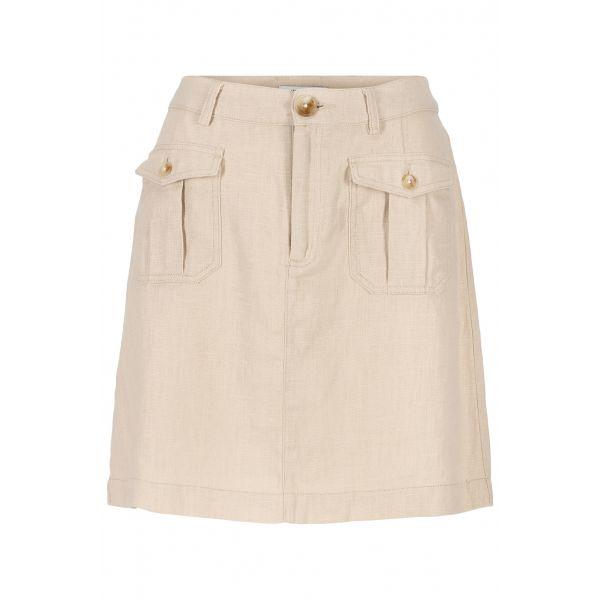 Sidney Skirt Linen