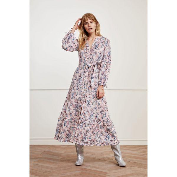 Ann Dress Trippy Pink