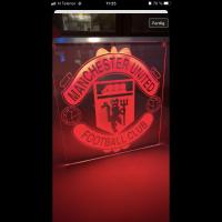 Ledskilt fotball - Manchester united