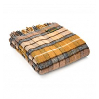 Pledd Tartan Natural Buchanan