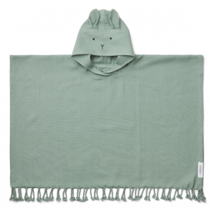 LIEWOOD - OTIS PONCHO RABBIT PEPPERMINT