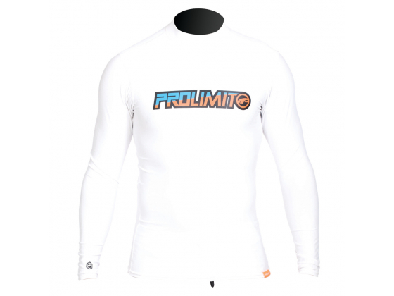 Prolimit Rashguard Long White