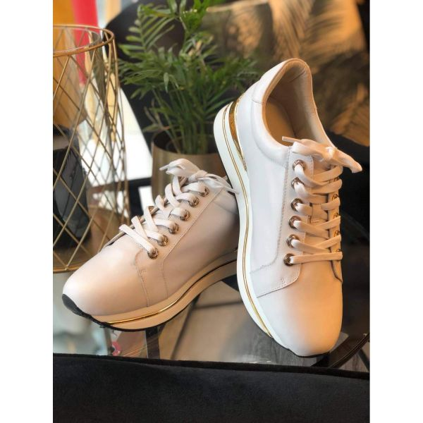 sneakers Gull, hvit