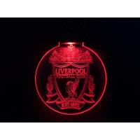 Nøkkelring med ledlys - Liverpool