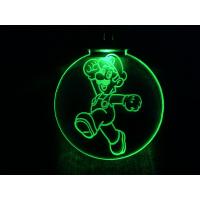 Nøkkelring med ledlys - Luigi