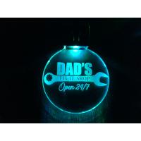 Nøkkelring med ledlys - Dads fix it shop