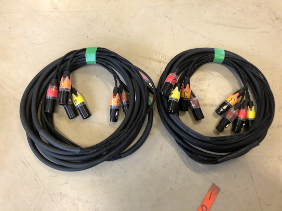 Multikabel 4-par 3pin 5m