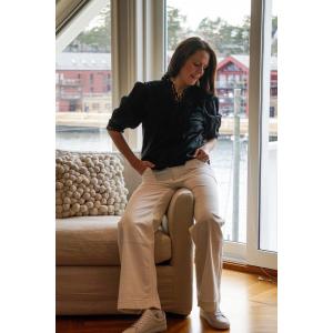 Sandra short blouse black