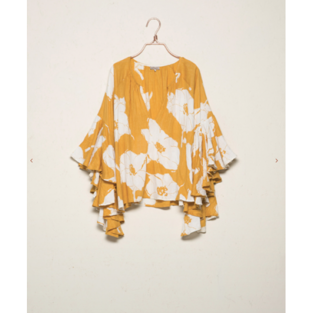 Yellow Bloom Blouse
