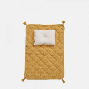OLLI ELLA - STROLLEY BEDDING SET MUSTARD