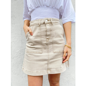 Bella Sand Skirt - Sand