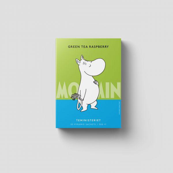 Moomin - Green Tea Raspberry