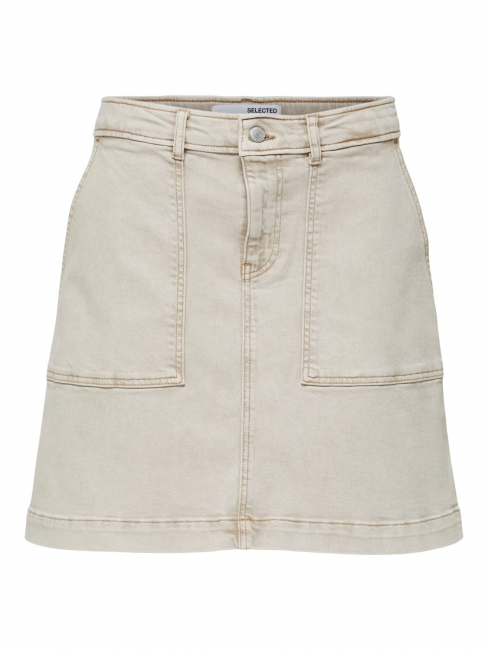 Bella Denim Sand Skirt