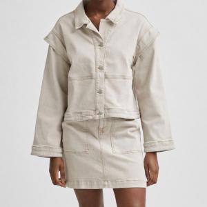 Bella Denim Sand Jacket