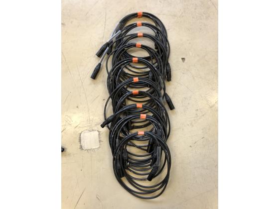 Mikrofonkabel Klotz 3m