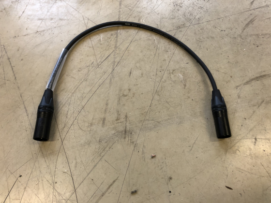 Ny - Mikrofonkabel male-male